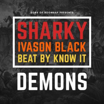 sharky demons ivason black
